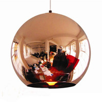 Wholesale Tom Dixon Copper Shade Mirror Ball Ceiling Light Pendant Lamp Lighting cm