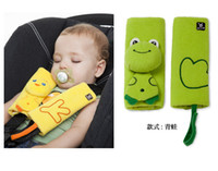 Wholesale Infant Safety Belt Shoulder Pad Babys Car Safety Seat Belts Harness Kids Seat Cushions TJ O0029