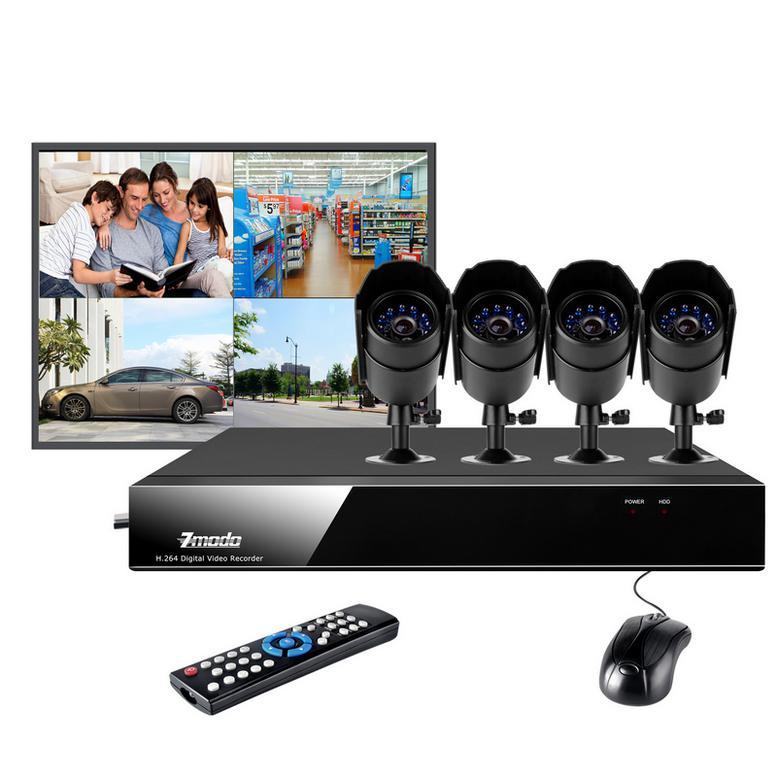 buy zmodo surveillance dvr 4 ch camera for complete surveillance rh zmodosurveillance com Standalone DVR Zmodo Zmodo 16CH