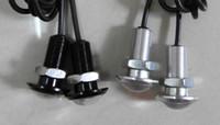 Wholesale 18mm black w New Ultra thin Invisibility Eagle Eye Lamp Diy Universal Car Reversing Light Daytime Running Light