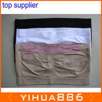 Polyester Normal Full Cup YOGA Sports bra Seamless Bandeau Bra 6 colors