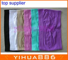 Wholesale STRAPLESS Tube Top BANDEAU bra Seamless Stretch Sexy Sports bra