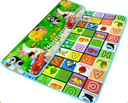 Wholesale Hot Sale Baby Play Mat Meter Fruit letter Animal car Kids Children Picnic Beach Mat Baby Crawling Mat