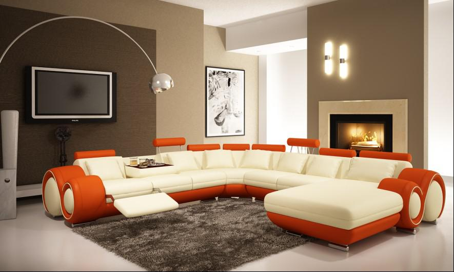 Modern Sofas Furniture Models With Different Color - Decorating ...