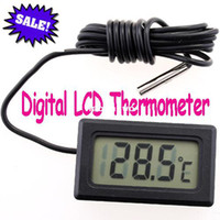 Wholesale Digital LCD Fridge Freezer Temperature Digital Thermometer freeshipping wholesales