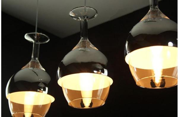 Las luces del techo nuevo creativo de la copa cáliz pendiente de ...