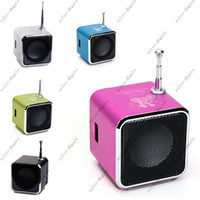 Wholesale TD V26 Digital Mini Speaker for MP3 MP4 PC Support TF SD Card Radio USB GA2809