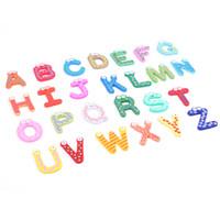 alphabet fridge - 26Pcs Set Wooden Alphabet Fridge Magnets Letter Refrigerator Sticker Kids Children Educational Toys