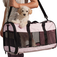 Wholesale Ondoing Pets Carriers Dog Carriers Pet Puppy Cat Bags Carrier Light Small Pet Carrier Bag with Inside Pad