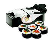 Stainless Steel Sushi Tools  Easy Sushi Maker Roller equipment, perfect roll, Roll-Sushi with color box kitchen accessories japan