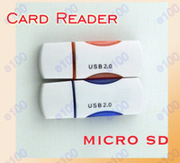 Wholesale Card Reader for Micro SD Card TF Card USB Micro SD T Flash TF Memory Card Reader adapter gb TF Card Reader