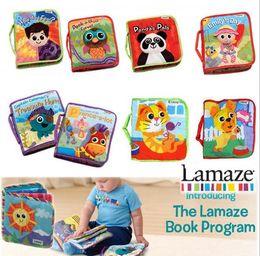 Tissu lamaze en Ligne-Lamaze jouets Toy crèche avec hochet de dentition Lamaze Tissu Baby Book 9 styles Livraison gratuite