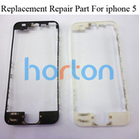 Wholesale Mid Middle Bezel Frame Chassis Housing For iPhone G th Black White Repair Replacement AF160
