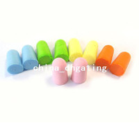 Wholesale 50Pairs Foam Soft Ear Plugs Noise Reduction Earplugs