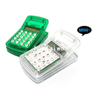 Wholesale Min Order mixed order Ultra small clip calculator personalized calculator FN