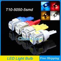 Wholesale T10 SMD Car Side Indicator Light Color Car Door Bulbs Side Wedge V White
