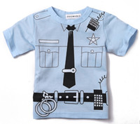 Wholesale 2013 new boy s t shirts jersey fire engine children s t shirts short sleeve tshirts boy tank tops kids costume shirt jersey boy s clothes D2