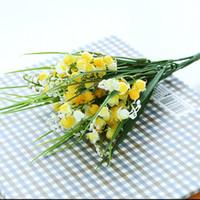 Wedding Other Household Sundries wedding flower ( bouquet / sahua / corsa Fuchsia orchid artificial flower plastic flower artificial flower coffee table desktop shelf bowyer