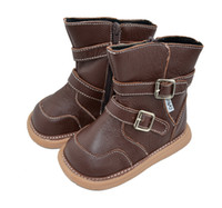 Wholesale genuine leather boots baby boots SQC13 brown baby shoes kids shoes toddler boots children shoes infant shoes SandQ baby