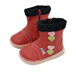 snow boots,leather baby boots,red baby boots, SQC10-red,baby shoes, kids shoes, toddler boots, children shoes,infant shoes,SandQ baby