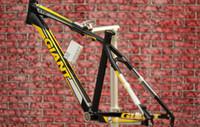 Wholesale GIANT models XTC FR mountain bike frame ultra light black and yellow g