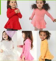Wholesale 2013 new girl Spring and autumn long sleeve T shirt Children s Shirts GirlsT shirt Primer shirt