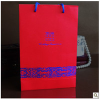 Wholesale 2013 new design Hot Sale Cheap In Stock Red Color cm cm cm Wedding Decorations Gift bag Candy box