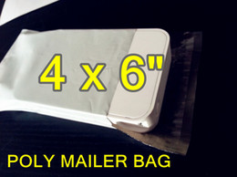 Wholesale 4 x inch x153mm self seal Poly mailer bag Plastic express envelope courier bag