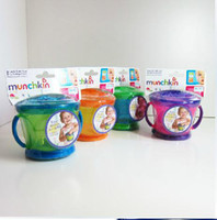 Wholesale Thread cat U S MUNCHKIN with the snacks cups cans individually wrapped snack spill proof BPA free