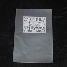 Wholesale tattoo book magzine A3 size for fllipfen skull supply
