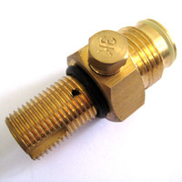 Wholesale New Paintball Co2 tank Pin Valve Copper Made