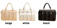 Wholesale Korean Fashion Women Lace Sexy Clutch Shoulder Purse Handbag Tote Bags Boston