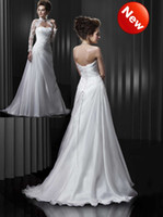Wholesale Custom Made Strapless A Line Organza Ruffle Floor Length Corset Bridal Wedding Dress With Jacket