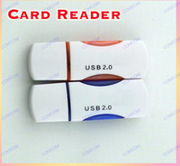 Wholesale Card Reader for Micro SD Card TF Card High Speed USB Micro SD T Flash TF Memory Card Reader adapter gb TF Card