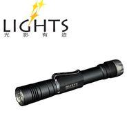 niteye LED 240-350 lumens Free shipping Niteye MSA20 Cree XM-L U2 2x AA 1.5v SS Bezel Magnetic Control LED Flashlight
