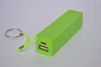 Universal Power Bank  brand new 2600mAh USB Power Bank Portable External Battery Pack for Cell Phone 5pcs lot