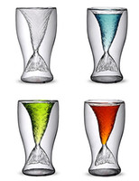 Wholesale Mermaid Cup Glass Creative Beer Mug Handmade Glass ml Glassware Y4025B