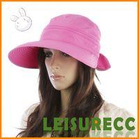 Wholesale Summer Along the caps Ms Sun hat Bowknot lady dual use sun hat empty hat