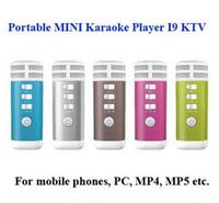 Karaoke Player - New style iSing i9 Portable Pocket MINI Combination Karaoke KTV player for Gifts