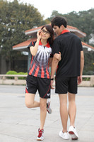 Wholesale 2012 table tennis clothing for men and women lovers suits