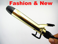 Wholesale Hair Sticks Ceramic Curling Irons Large Pear Curling Perm Rods Hair Roller Hair Curlers Electric Heating Rod
