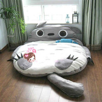 Wholesale Double Sleeping Bag Totoro Mattress Sleeping Pad Beanbag Tatami Mattress Cushions Large cm