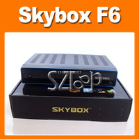 Wholesale Skybox F6 satellite Receiver HD Full P IPTV Support USB Wifi Youtube