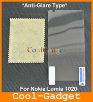 Wholesale Anti Glare Frosted Screen Guard Protector Cover Film for Nokia Lumia EOS With Retail Package MSP697A