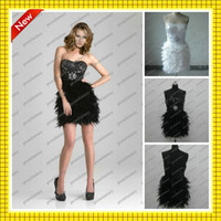 Custom Made 2013 Black White New Cheap Bling Bling Sequins B...