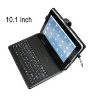 Wholesale Wired USB Keyboard Case Protective Sleeve For Acer Iconia A500 Tab A200 A700 Tablet PC Black