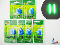 Wholesale HOT High Quality Chemical Lights in Green Colour Glow Sticks For Fishing Special Offer China post Air