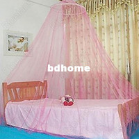 Adults other other New! 4 Colors Mosquito Net Adult Fashion Dome Fly Elegent Lace Bed Netting Canopy for Bedroom