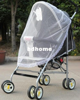 Wholesale 100pcs Buggy Pram Protector Pushchair Stroller Mosquito Net Fly Midge Insect Bug Cover TZ0531