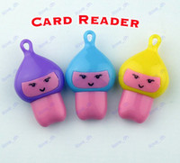 Wholesale card reader for Micro SD Cute Doll Princess USB Reader High Speed USB Micro SD T Flash TF Memory Card Reader adapter TF Card
